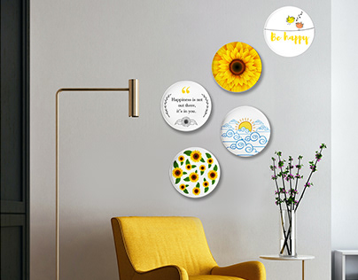 Ceramic Wall Plates Composition