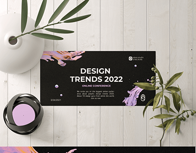 Flyer and Banner for Design Conference