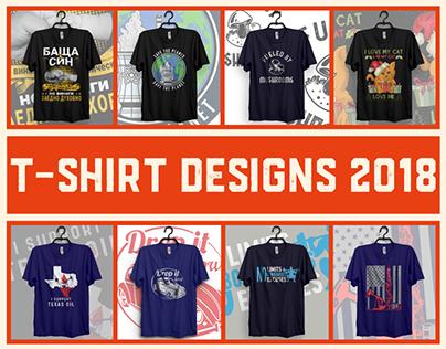T shirt Design 2018 & free PSD