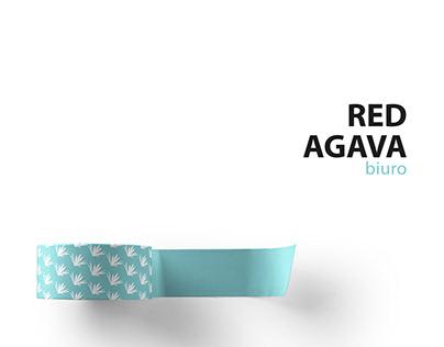 Red Agava biuro branding