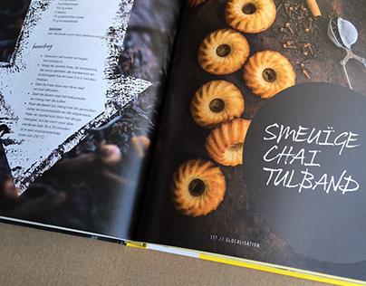 Bookdesign 'Sweet Foodista'