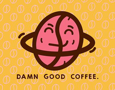 Damn Good Coffee Branding & Corporate Identity