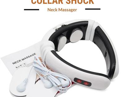 Collar Shock Neck Massager