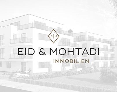 CORPORATE DESIGN Eid & Mohtadi Immobilien