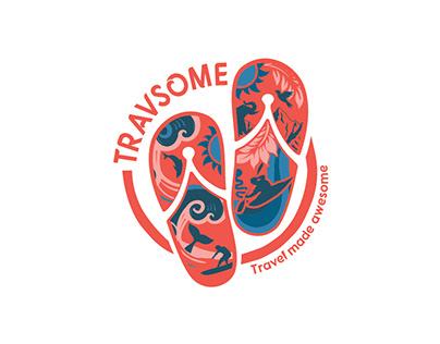 TRAVSOME Branding