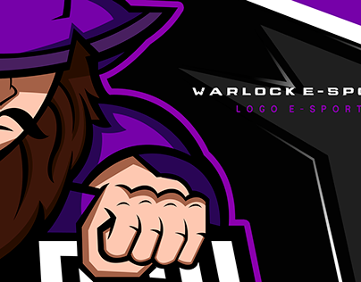 Logo E-sports ( Warlock E-Sports )