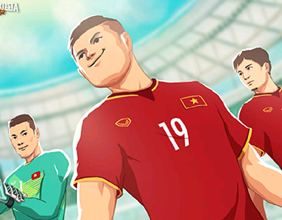 Olympic Vietnam short animation