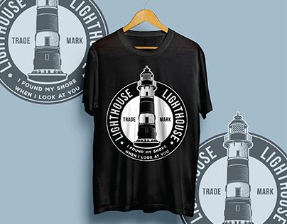 lighthouse for t-shirt