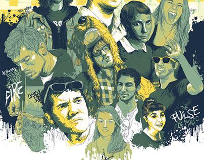 Senior Tribute Poster