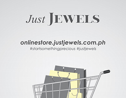 Sticker on Sintra for Just Jewels Mega Sale