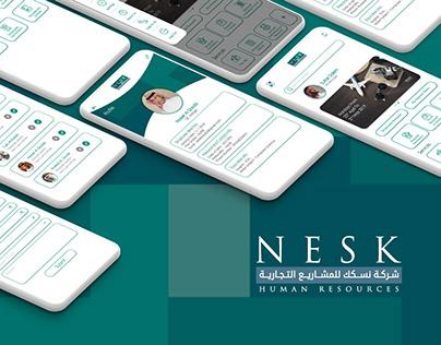 NESK HR System App