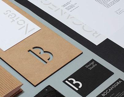 Bocanegra Studio Identity