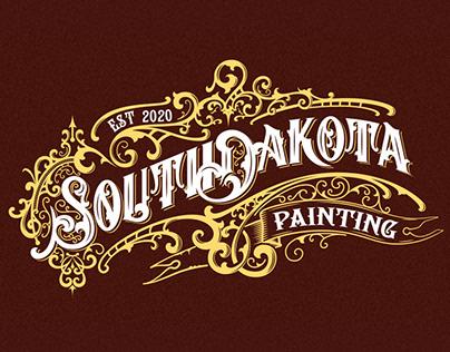 South Dakota Painting logo design
