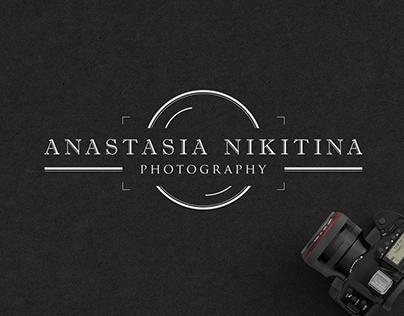 Anastasia Nikitina photographer   logo