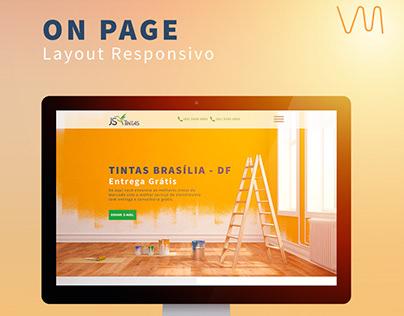 Landing Page - Js Tintas
