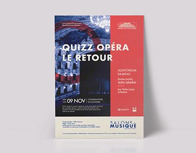 Salons de Musique | Event Flyers | Édition 2018 - 2019