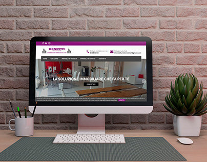 Website - Immobiliare Bonetti (Agenzia Immobiliare)