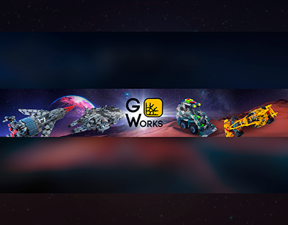 YouTube banner for GWorks