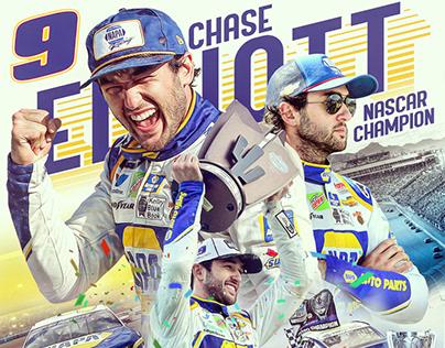 Chase Elliott 2020 NASCAR Cup Series Champion