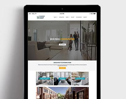 Madison Avenue Group Website Design
