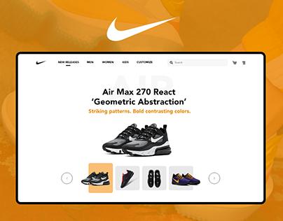 Nike Homepage Redesign
