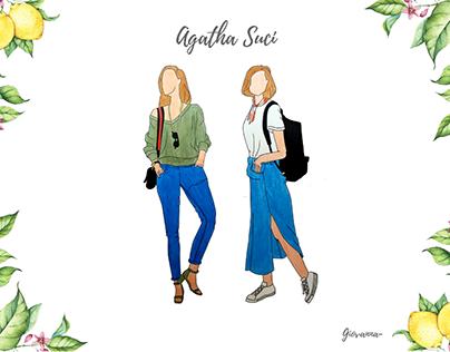 Agatha Suci - Fashion Illustration