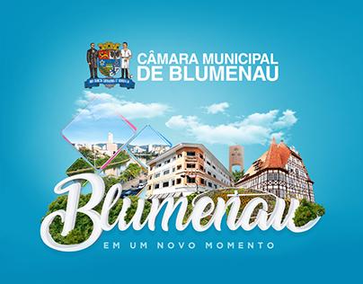 Campanha 2020 – Câmara de Vereadores de Blumenau