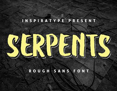 [FREE FONT] Serpents