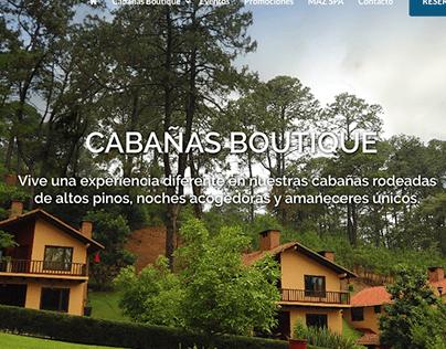 Villas Mazamitla // DISEÑO WEB