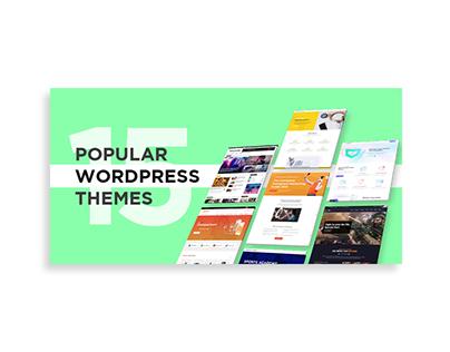 15 Popular Wordpress Theme Banner Design