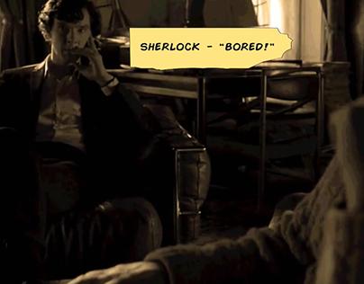 Sherlock Comic Version