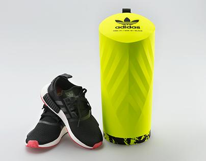 Adidas shoebox innovation