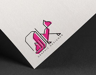 Logo for a graphic designer