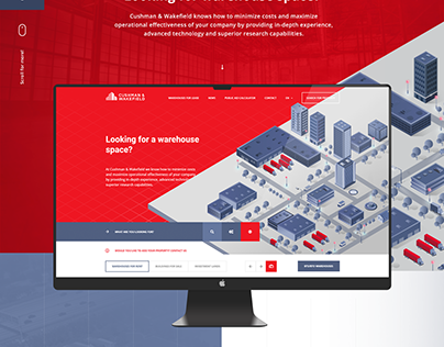 Cushman & Wakefield Corporate Website