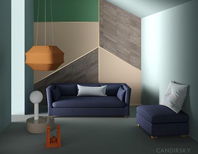 Tandem Arbor interiors visualization 2