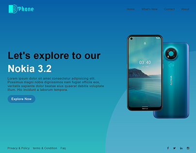 Full-Screen Landing Page for Single product