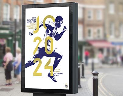 Jeux Olympiques Paris 2024 (Projet fictif)