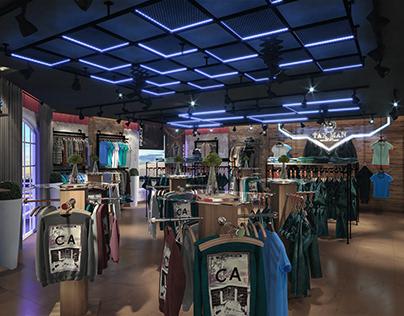 Tax Man Fashion Wear Showroom | free scene