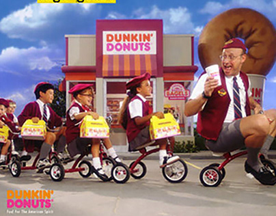 Dunkin' Donuts — Ad Campaign