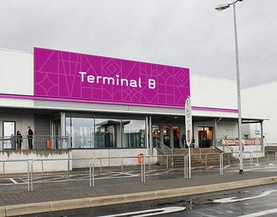 Frankfurt Hahn Airport // Orientierungssystem