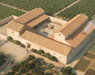 Roman villa of Vilarenc,Calafell, 1st century C.E.