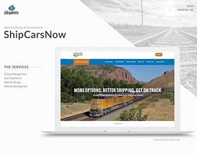 ShipCarsNow website design and development