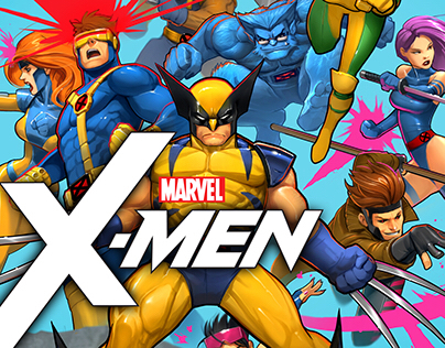X-Men Cover Gallery--NEW