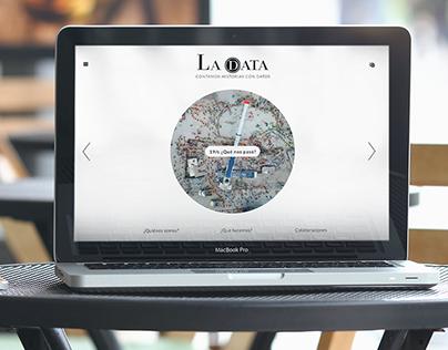 Rediseño sitio web: La Data