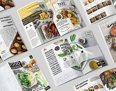 McCain Foods | Food Photography & Catalogue Design