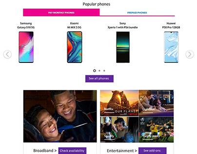 Spark | Website redesign