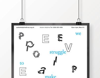 Autism Spectrum Disorder Awareness Posters