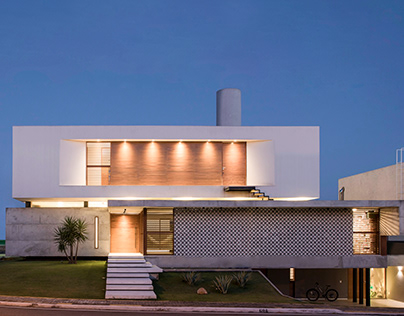 IF house deigned by Martins Lucena Architects