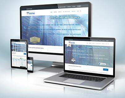 Parkingtim-hosting.com - Webhosting design /graphics