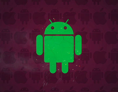 Android morphing apple